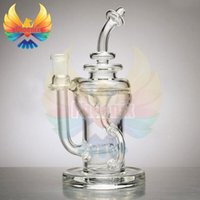 glass bowl - Gordo Scientific Klein Recycler glass glass bong MM two function bongs bubbler percolator bongs water pipes bowls for oil rigs bong pipe