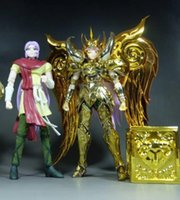 ae tv - In Stock AE Saint Seiya EX Aries Mu Soul of God Metal Armor Myth Cloth Gold Ex Action Figure Toy Model Christmas Gift
