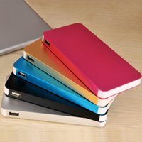 super slim - Super Slim Power Bank mah Portable Charger Powerbank Mobile Phone External Battery Charger For Mobile Phone