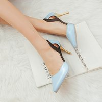 Wholesale 2015 new Womens Shoes sexy sweet High Heels Top Quality Lady s high heeled Dress Shoes Party Wedding Shoes
