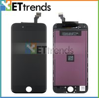 Wholesale Grade AAA for iPhone LCD Screen Display with Touch Digitizer Assembly With Earpiece Anti Dust Mesh Installed Free DHL