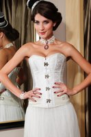 steampunk - 2015 Sexy Lady Corpete Corselet Brocade Steampunk Corset with Clasp Fasteners waist training corsets colors B6195