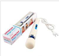 Wholesale 30 off Hitachi Magic Wand Massager AV Vibrator Massager Personal Full Body Massager HV R V Sex Products Vibrators US EU Plug
