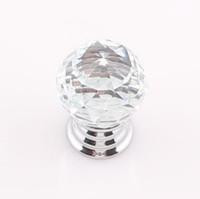 achat en gros de porte diy-Diamant Forme Boutons Cabinet cristal tiroir tirer sur la poignée de porte de bouton Dresser Armoires Poignées Poignée bricolage Inclure vis ZBE281