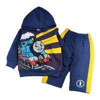 design new tracksuits - 2015 New Arrival Children s Autumn Clothing Set Thoms Cartoon Design Tracksuit Hoodies Sweatshirt Pant Baby Boys Clothes