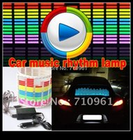 activate domes - 2015 Dome Light Astra Limited Parking Sale cm Car Music Rhythm Lamp Led Sound Effect Activated Equalizer Panel Decoration