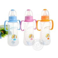 Wholesale Baby Bottle Automatic Straw Baby Bottle With Handle PP Baby Bottle High Capacity New Hot Sell Creative Fashion Shipping From China