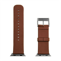 Wholesale For Apple Watch Strap Band Genuine Leather with Connector Adapter included for mm and mm iWatch