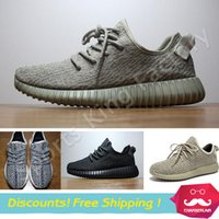 cutting - Yeezy Moonrock Oxford Tan Pirate Black Grey Turtle Dove Running shoes sports snakers Kanye West Yeezy boost with box US6 US13