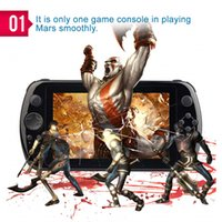android game player - 7 quot inch GPD Q9 Quad Core K3288 Gamepad Android Handheld Game Console PSP3000 PSV Players D3443A