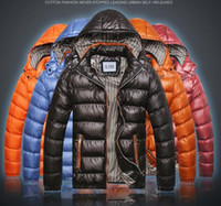mens fashion caps - Men s cotton windbreaker style couples dress warm padded jacket Mens ChaoLian thickened winter cap coat