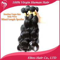 elites hair - 15 OFF Brazilian Virgin Remy Human Hair Body Wave Weft Hair Weave Extensions g pc Elites Queen Hair products DHL Fast Shipping BH503
