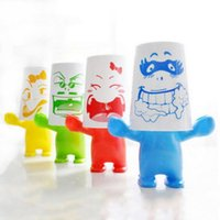 Wholesale ASLT Lovely Giant Series Cartoon Plastic Toothbrush Holder with Cup Home Bath order lt no track