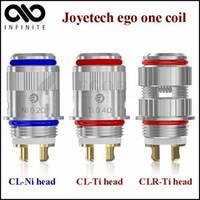 Original Joye tech Evic vt CL-Ni CL-Ti CLR Ti de la Bobina de la Cabeza Ego Uno Bobinas para joytech ego-one XL mega evic-vtc mini evic-vt atomizador