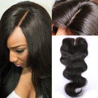 base closure - Peruvian Silk Base Closure Virgin Human Hair Closures Free Middle Way Part Cheap Silk Base Weaves Closure
