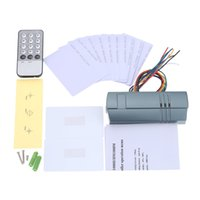 Wholesale Hot Sell Access Controller Kit with IR Remote Control Master Cards ID Cards for Door Security