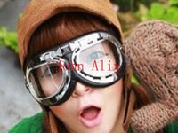 Wholesale New Arrive motorcycle goggle Motorcycle Scooter Steampunk Cruiser Helmet Goggle Eyewear