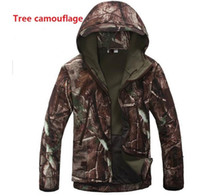 Cheap Fall-Lurker Shark skin Soft Shell TAD V 4.0 Outdoor military uniform Tactical Softshell Jacket Waterproof fleece hunting clothes