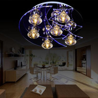 Wholesale Modern fashion led crystal lamp chandelier ceiling light V V for bedroom dinning room livingroom balcony corridor crystal ceiling lamp