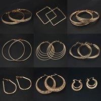lead free nickel free - Fashion Big Hoop Earrings Women Styles Good Plated Circle Round Nickel Lead Free Magi Jewelry