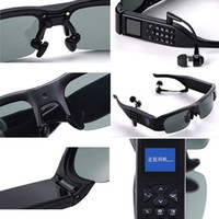 None No AVI 2 Mega pixel High Resolution Sunglasses Camera with Multi-function alarm GPRS Video recording Bluetooth dialing mp3 Music great eye phone