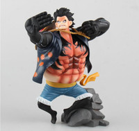 artist figures - 17 cm Anime One Piece King Of Artist The Monkey D Luffy PVC Action Figure Collectible Model Toy EMS