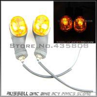 bajaj motorcycles - X2 Amber Turn Signal Indicators Lights for bajaj motorcycle