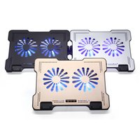 Wholesale iDOCK N10 Notebook radiator Ultra thin fan Laptop cooling base Mute the base mat ergonomic job protection