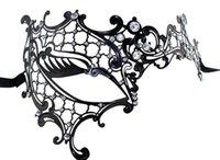 masquerade masks laser cut - Masquerade Mask Metal Masks Signature Phantom of the Opera Venetian Laser Cut Masquerade Mask Party Masks for Halloween Christmas Wedding
