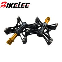 alloy axle shafts - 2015 Kactus mountain road Bike Bearings Magnesium alloy Bicycle parts pedal Stainless steel shaft Axle Footrest cycling cleats
