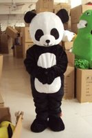 Role-jouant panda poupée vêtements, chinoise nationale trésor panda animal Costume Mascotte Fancy Dress Taille adulte