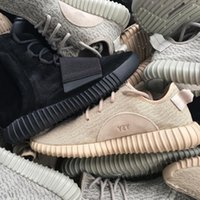 Cheap Wailly 1:1 Original Yeezy Boosts Shoes Grey Moonrock Black Tan Yeezy Red Yeezys 350 Size 13 Outdoor Light Running Shoes