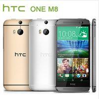 Wholesale Original HTC One M8 Unlocked Quad core RAM GB Mobile Phone Android Quad Core GHz WIFI GPS MP Refurbished Phone