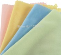 Wholesale 0pcs Colorful microfiber lens cleaning cloth Camera screen cleaning kit sunglass cloth Camera Cleaning Cheap Camera C