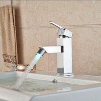 bidet style toilets - LED Light European Style Deck Mounted Toilet Spray Faucet Solid Brass Women Bidet Faucet