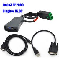 diagbox v48 Canada - 2016 Newest V7.82 with 921815C Firmware lexia Hot Sale Lexia3 PP2000 V48 V25 Lexia 3 Diagbox 7.82 For Citroen Peugeot diagnostic tool