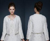 atmosphere dress - 2016 fashion luxurious atmosphere wedding bridesmaid dress warm shawl big thick white wool shawl new winter coat bridal cloak HY00208