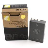 Wholesale xEN EL9a Battery EN EL9a For Nikon D60 D40 D40X D5000 D3000 HIGH QUALITY NO TAX SHIP VIA DHL