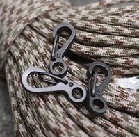 Cheap Good quality SF mini aluminum quick hanging buckle carabiner keychain,outdoors buckle hanging hooks,EDC 800pcs