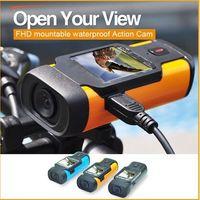Wholesale ishare s300 sports camera mini DV Motion detective video camera FHD p waterproof helmet camera
