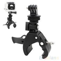 Wholesale Handlebar Clamp Roll Bar Mount Tripod Adapter for GoPro Hero Cameras Accessories TZC