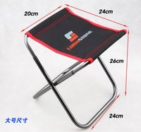 Wholesale Folding Chair Simple And Strong Canvas Portable Chair For Outdoor Picnic Garden Fishing chairs for Dinner Table Camping Furniture