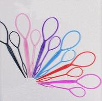 Wholesale Plastic Magic Topsy Tail Hair Braid Ponytail Styling Maker Clip Tool Black