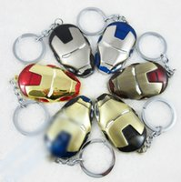 birthday presents - Avengers Key Chain Children s Day Gift Iron Man Metal Key Accessories Toys Europe Movie Superhero Birthday Present L795