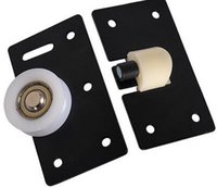 Wholesale 378 Furniture sliding door wardrobe round round concave bearing sliding door cabinet sliding wheel