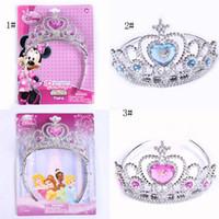 birthday presents - Minnie crown crown sandy hair accessories Cinderella children Christmas celebration party presents a birthday present