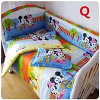 Wholesale Comfortable Cotton Made Baby Bedding Set Cute And Fancy For Newborn Kids Cot Using cm Colors Optional