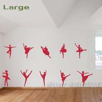 ballet dancing music - Ballet dance music Wall stickers large style Ballet dance Wall decals Ballet dance stickers wall art decals