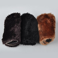 Wholesale Home Use Shoes Cleaning Gloves Cloth Polishing Shoe Brush Imitation Wool Soft Accessories Y60 JJ0174 M5
