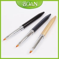 acrylic nails simple - Own Design Simple Sculpture Acrylic Nail Brush with Import Nylon Sculpture Brush Metal Handle